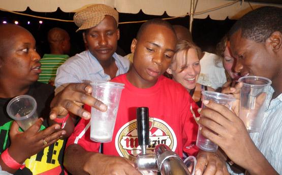 Mutzig Rwanda beer festival
