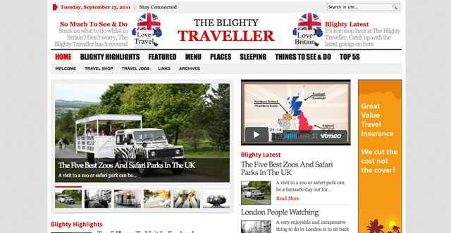 The Blighty Traveller