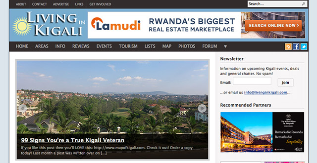 Living in Kigali